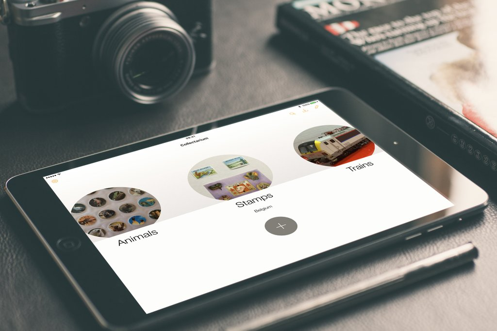 Creaceed releases Collectarium 1.0 - An iPad app to Organize Collections Image